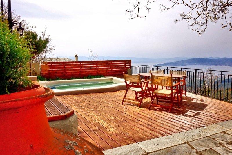 Villa Evridiki by Pelion Esties, casa vacanza a Agios Georgios Nilias