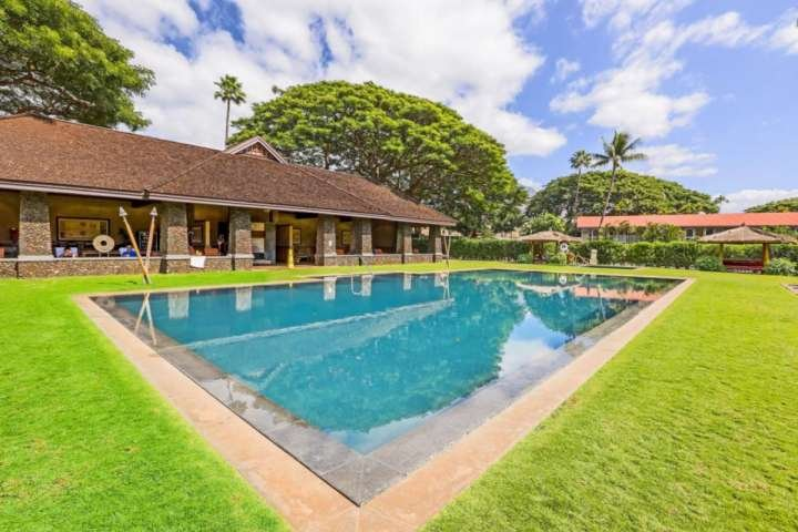 Located on 9 acres in the heart of Lahaina, Aina Nalu Resort - large infinity pool