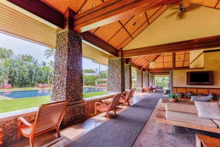 Community pavilion - the ideal gathering spot - Aina Nalu Resort