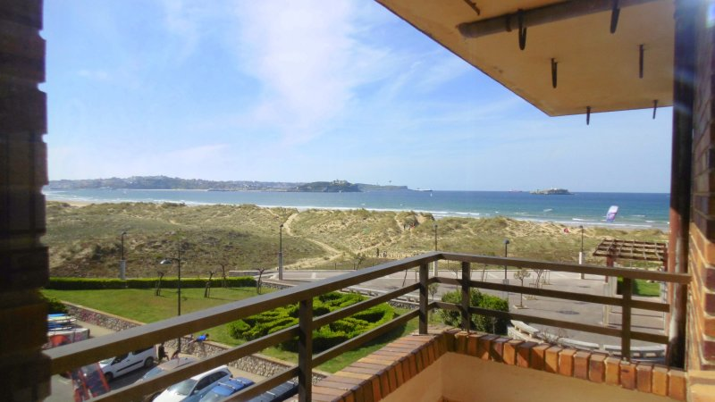 SOMO, 1ª Llinea Playa, Impresionantes Vistas, casa vacanza a Solares