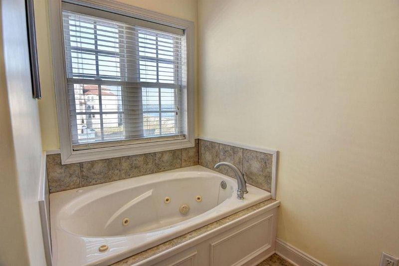 Master Bath w/ Walk in Shower & Jacuzzi Tub