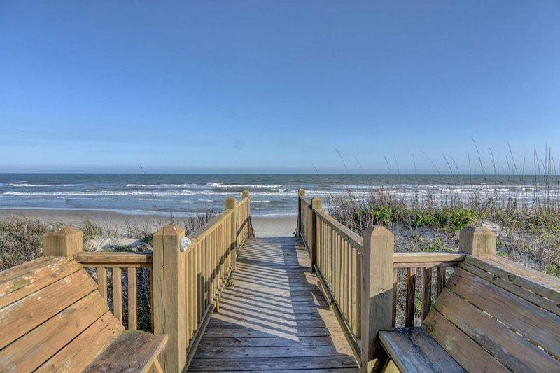 Beach Access Sitting