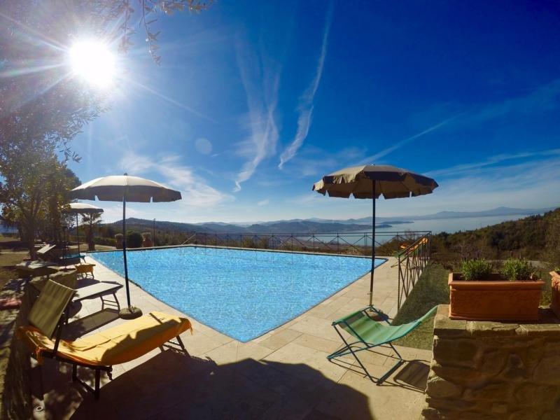 BellaVista Apartment Panoramico, Ferienwohnung in Passignano Sul Trasimeno