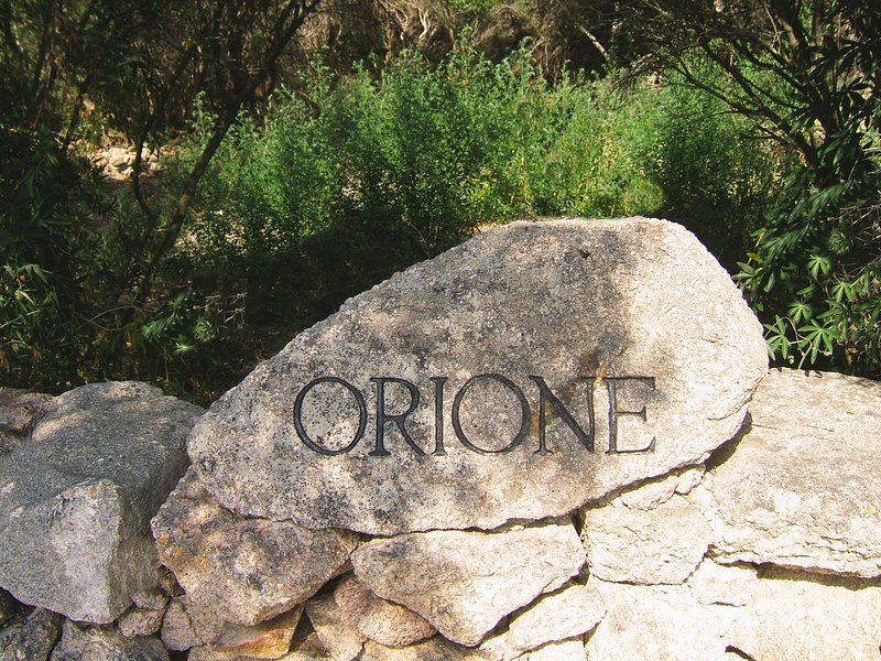 The Orione Stone, Hand Hewn bz the Owner