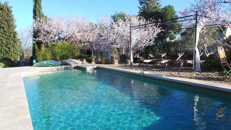 air conditioned cottage+pool st remy provence, location de vacances à Paradou