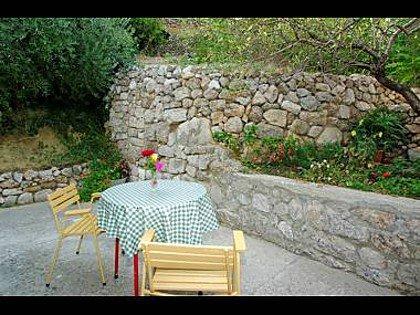 A2 (2): terrasse de jardin