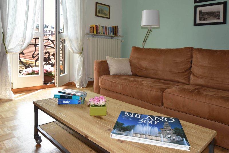 Little Broggi - Ideal for couples, alquiler vacacional en Milán