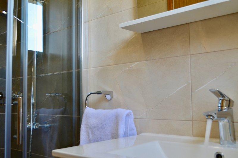 detail van de badkamers