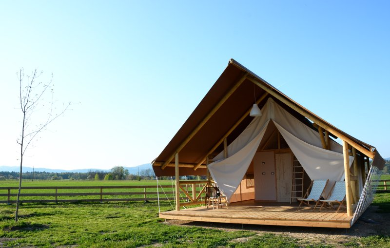 Kolpa Resort, glamping resort, holiday rental in Lower Carniola Region