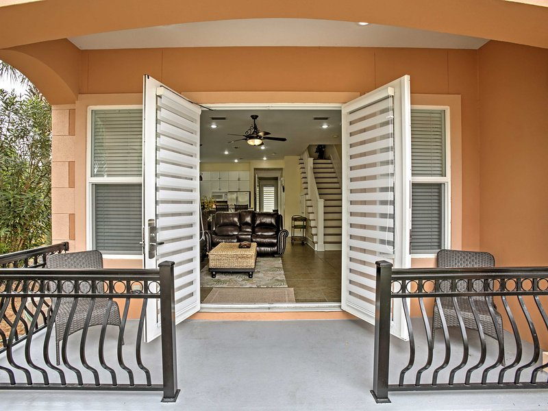 You'll love calling this spacious, 2-story townhouse home throughout your vacation!