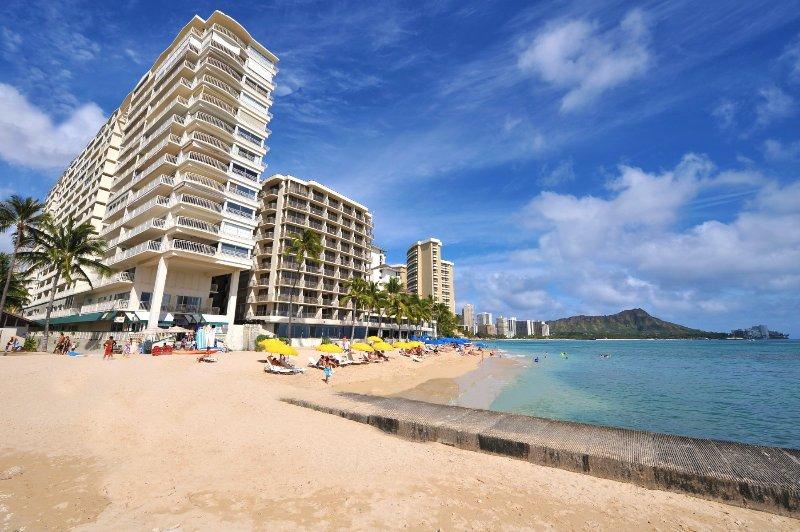 Direct Waikiki Beachfront location.
