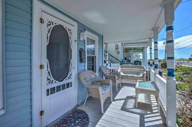 Una escapada animado Jersey Shore le espera en este apartamento de vacaciones!