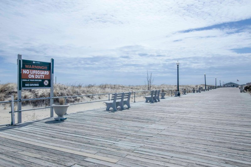 Go for a jog or walk on the boardwalk!