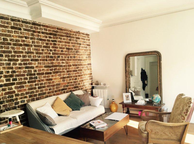 Preciosa y cálida sala de estar