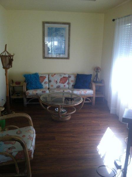 Relaxe na sala de estar