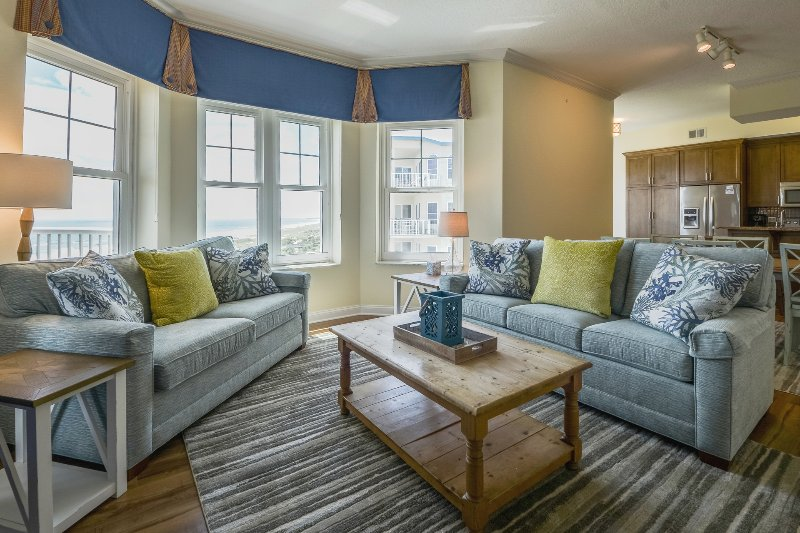 Lovely Living Room con divano letto