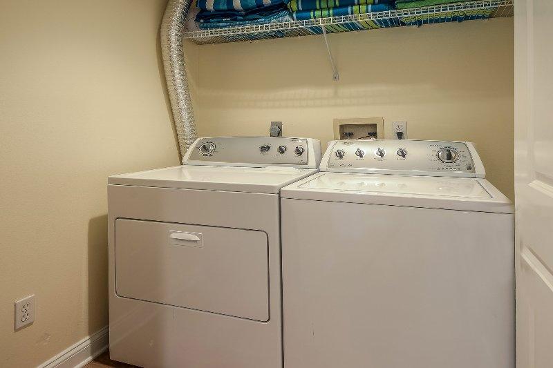 Lavatrice e asciugatrice nell'unità