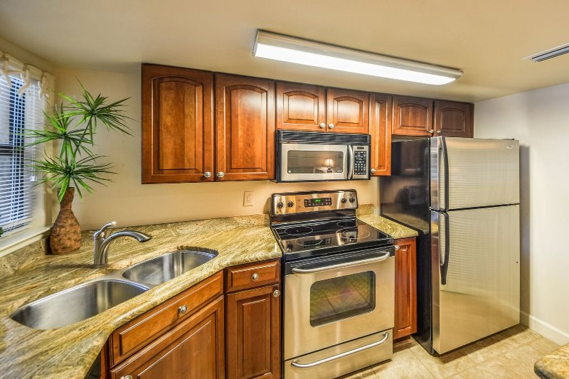 New Kitchen with Stainless Steel Appliances