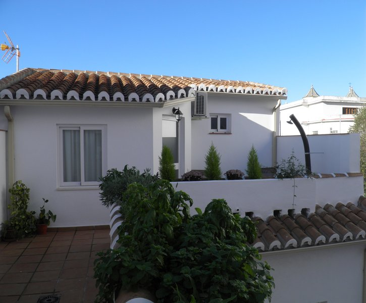 Quiet rooftop apartment historic center Malaga, holiday rental in Malaga