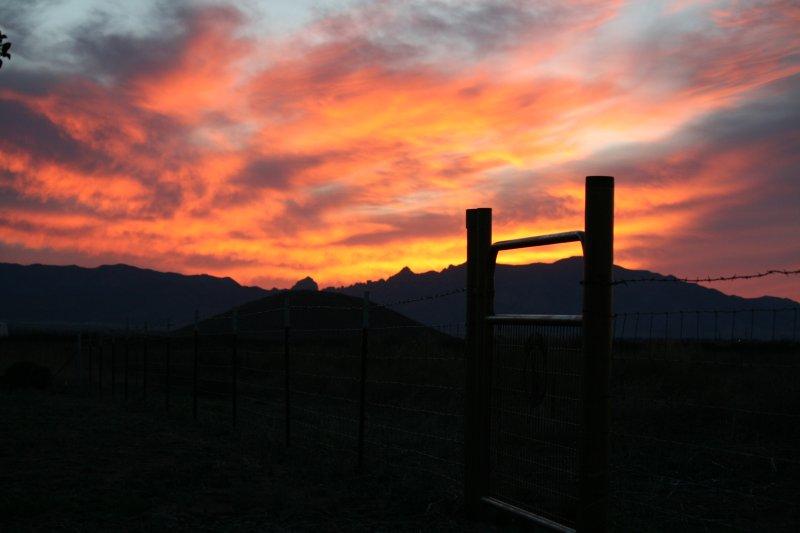 Vistas desde el rancho de 2 parques nacionales. Espectaculares 360 Mt Views todas partes se mira desde Ranch.
