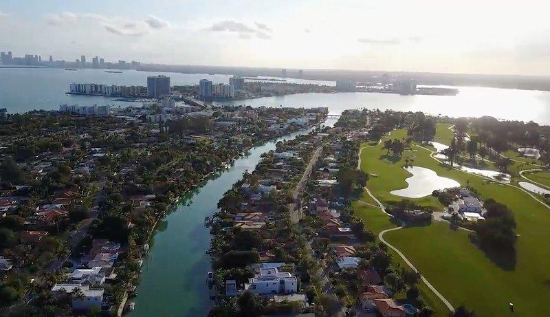 Enjoy Miami Beach from this spacious 2/2 canal view condo