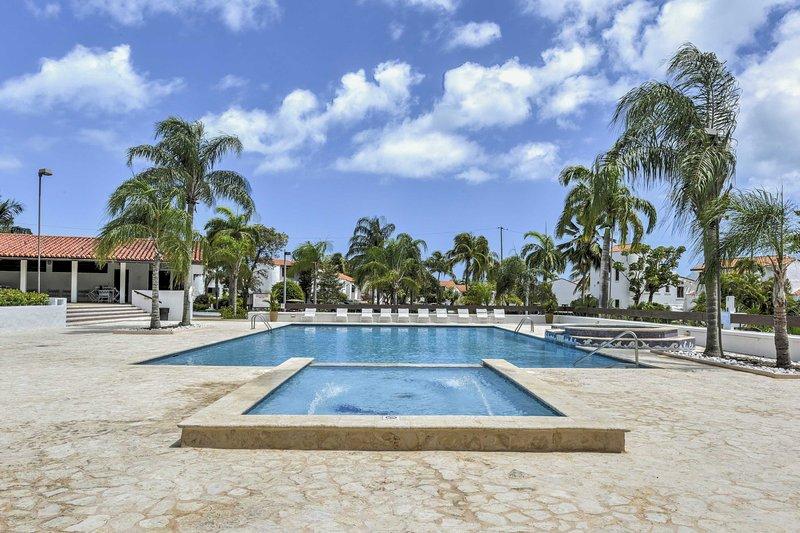 Enjoy views of the Atlantic Ocean at this vacation rental villa in Rio Grande.