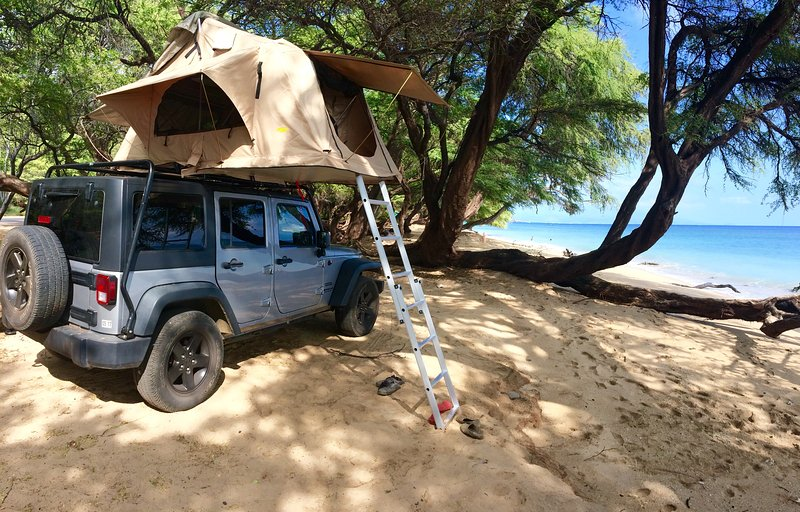 Explore Maui your own way u00274x4 Jeep Wrangler + Roof top tent & Explore Maui your own way u00274x4 Jeep Wrangler + Roof top tent UPDATED ...
