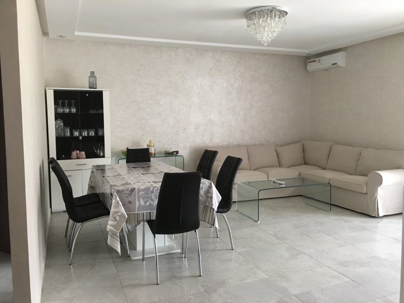 living room, dining room, TV, air conditioning, terrace access