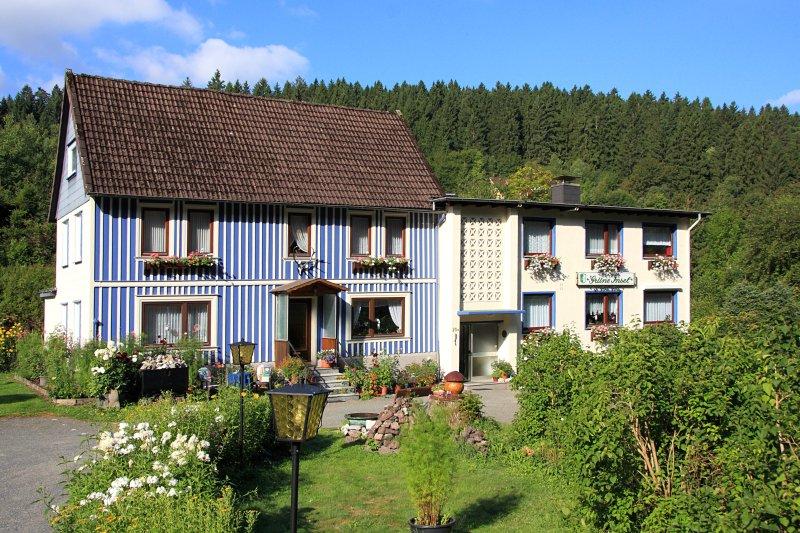 Ferienwohnungen und Gästezimmervermietung im Harz, viel Natur, Wälder und Seen, holiday rental in Altenau