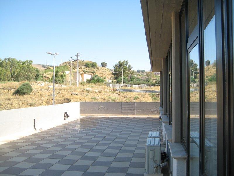Terrace and solarium