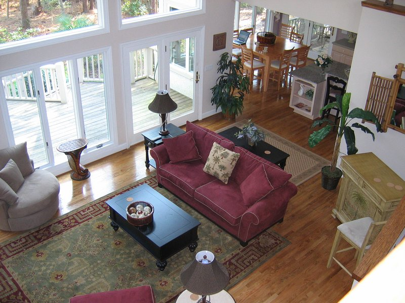 Great room from upstairs