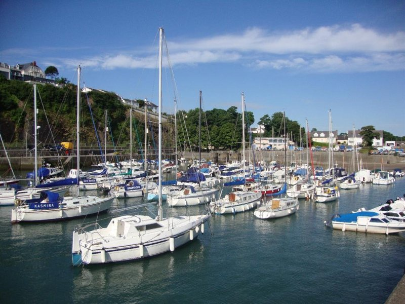Saundersfoot too has a bustling harbour - why not click 'Area' tab & see what else is nearby