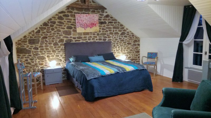 chambre d'hote familiale, Pont ricoul en Bretagne, holiday rental in Meillac