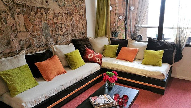 French  Suite Cordero  in la Mariscal Quito, alquiler de vacaciones en Provincia de Pichincha