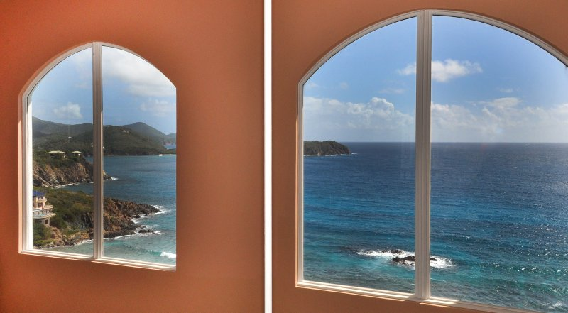 Views of Hart Bay Beach and Rendezvous Bay