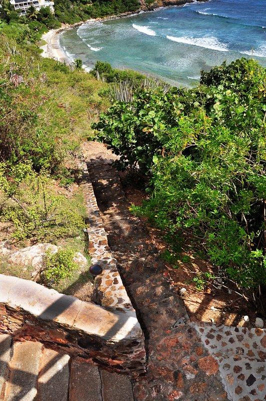 Chemin privé à Hart Bay Beach