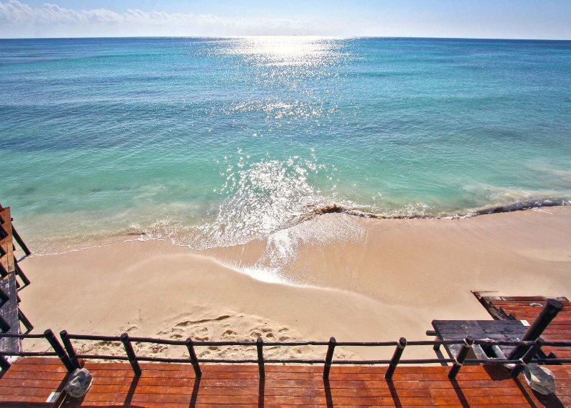 Meerblick vom Strandclub