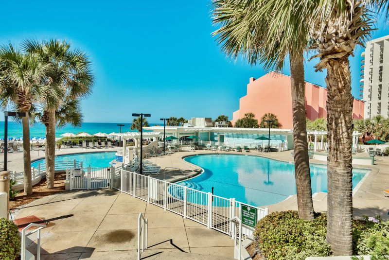 Two pools available for our Tides guests!