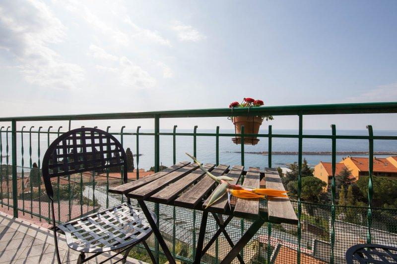 La Terrazza, vakantiewoning in Vallebona