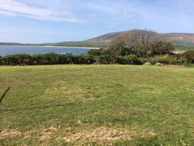 Vue des maisons de Mount Eagle et de la plage