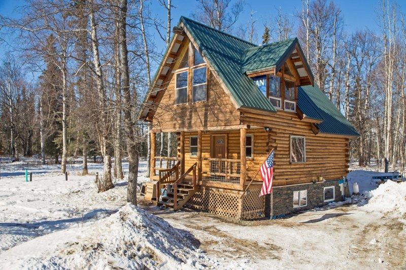 Escape a esta casa aislada alquiler de Palmer para una escapada relajante.