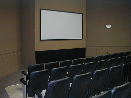 Theater in the clubhouse