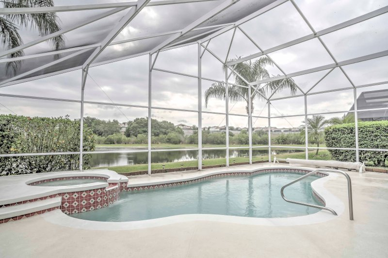Enjoy all that Kissimmee has to offer at this 6BR, 4-bath vacation rental house!