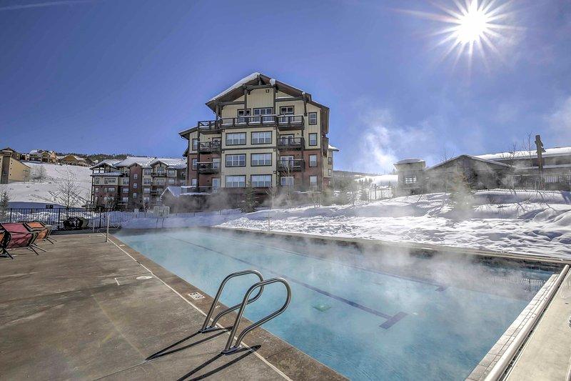 Esplora le montagne del Colorado in questo condominio per le vacanze a Granby!