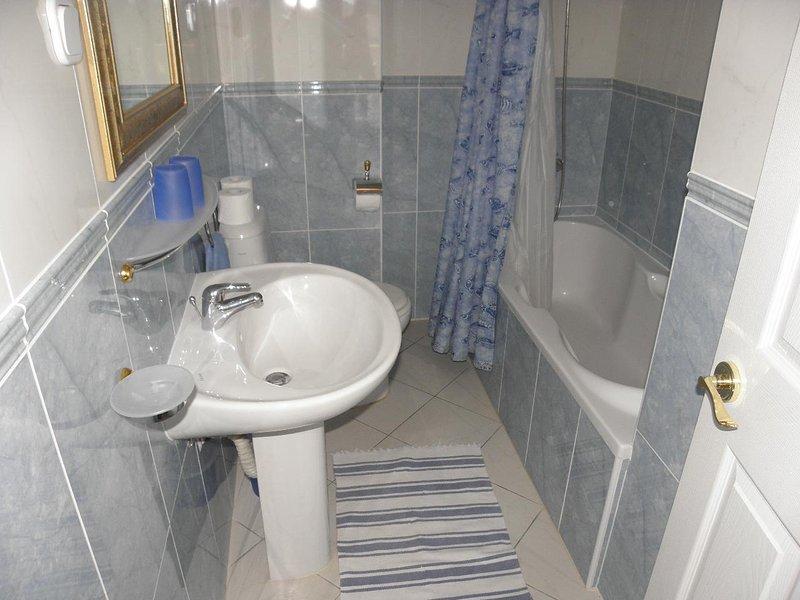 A7 3D (2 + 2): salle de bain avec toilette