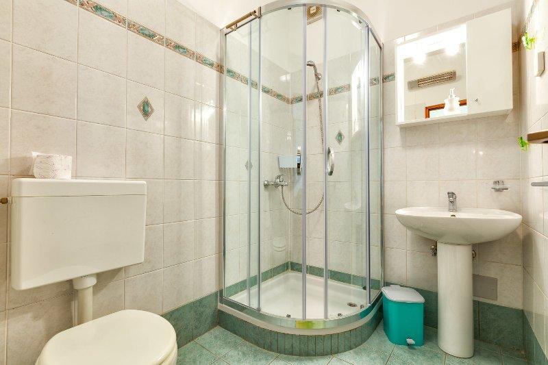 A2-Zeleni (4+1): bathroom with toilet