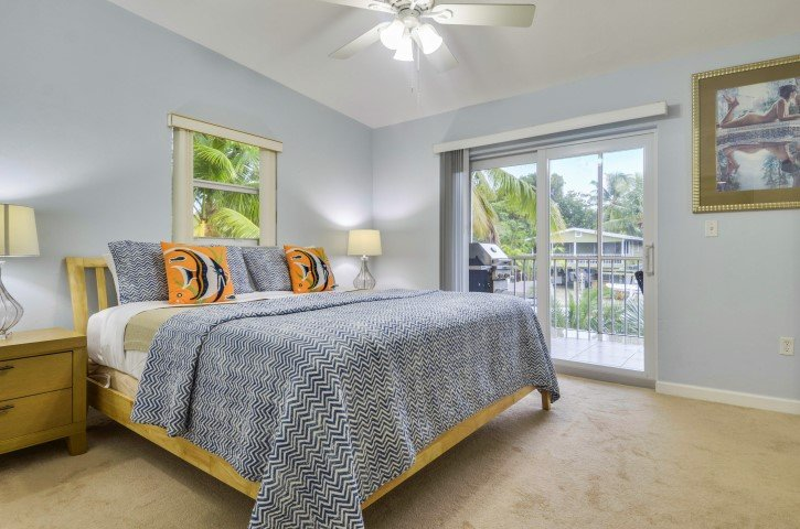 Master Suite Access to Balcony