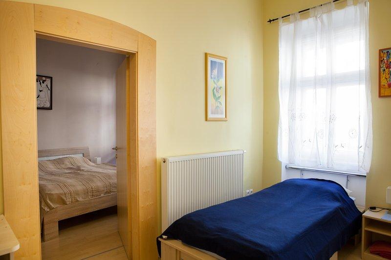 Apartment VIKTORIJA - entrance to master bedroom