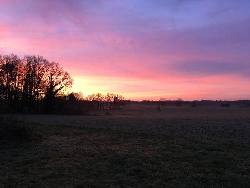 amanecer de invierno