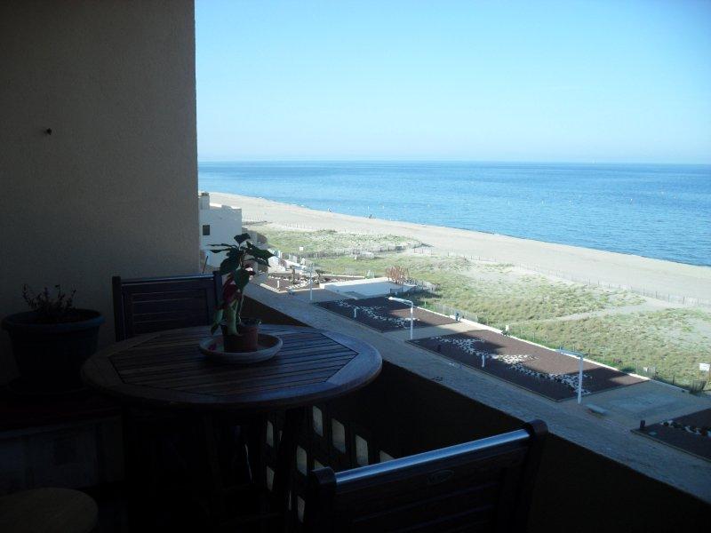 , A vista para o mar nas proximidades do terraço
